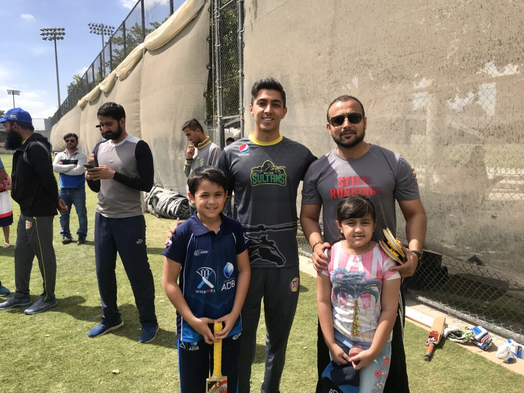 Ali Tareen with Dr. Muddassir Ahmed