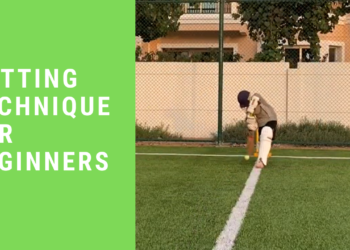 cricket batting techniques for beginners